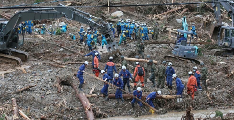 Japão intensifica resgate após inundações que deixaram ao menos 44 mortos