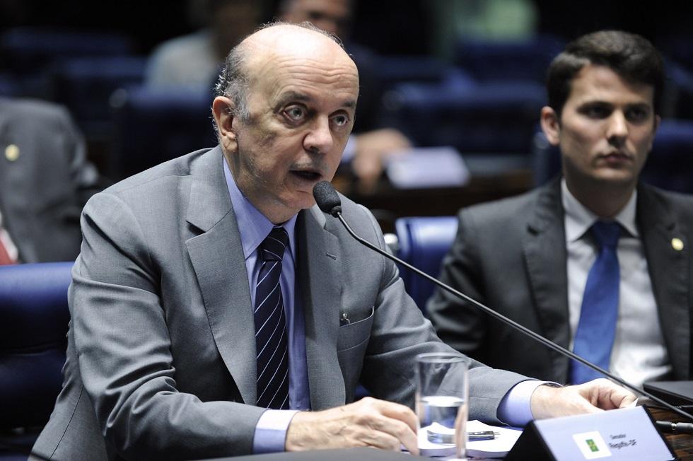 Serra pede que STF suspenda investigação sobre caixa 2 na Lava Jato Eleitoral