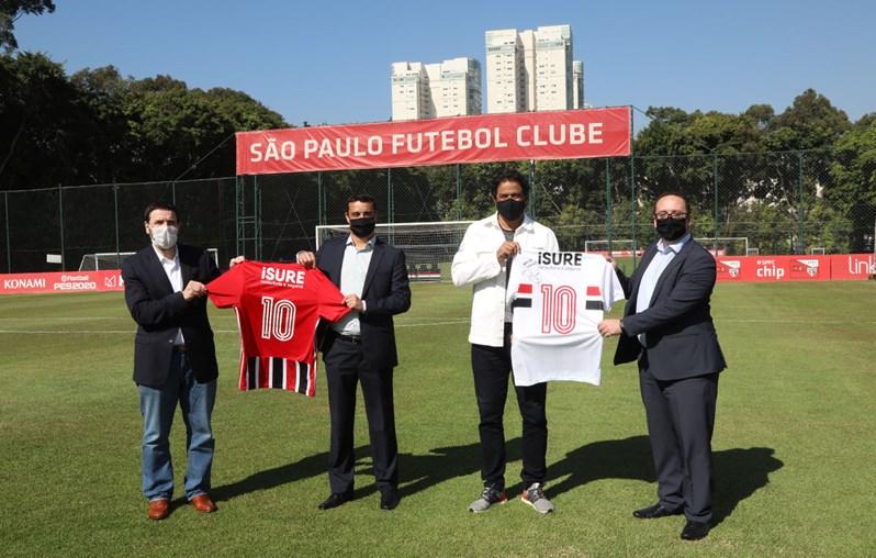 São Paulo anuncia patrocínio com seguradora até o final do ano