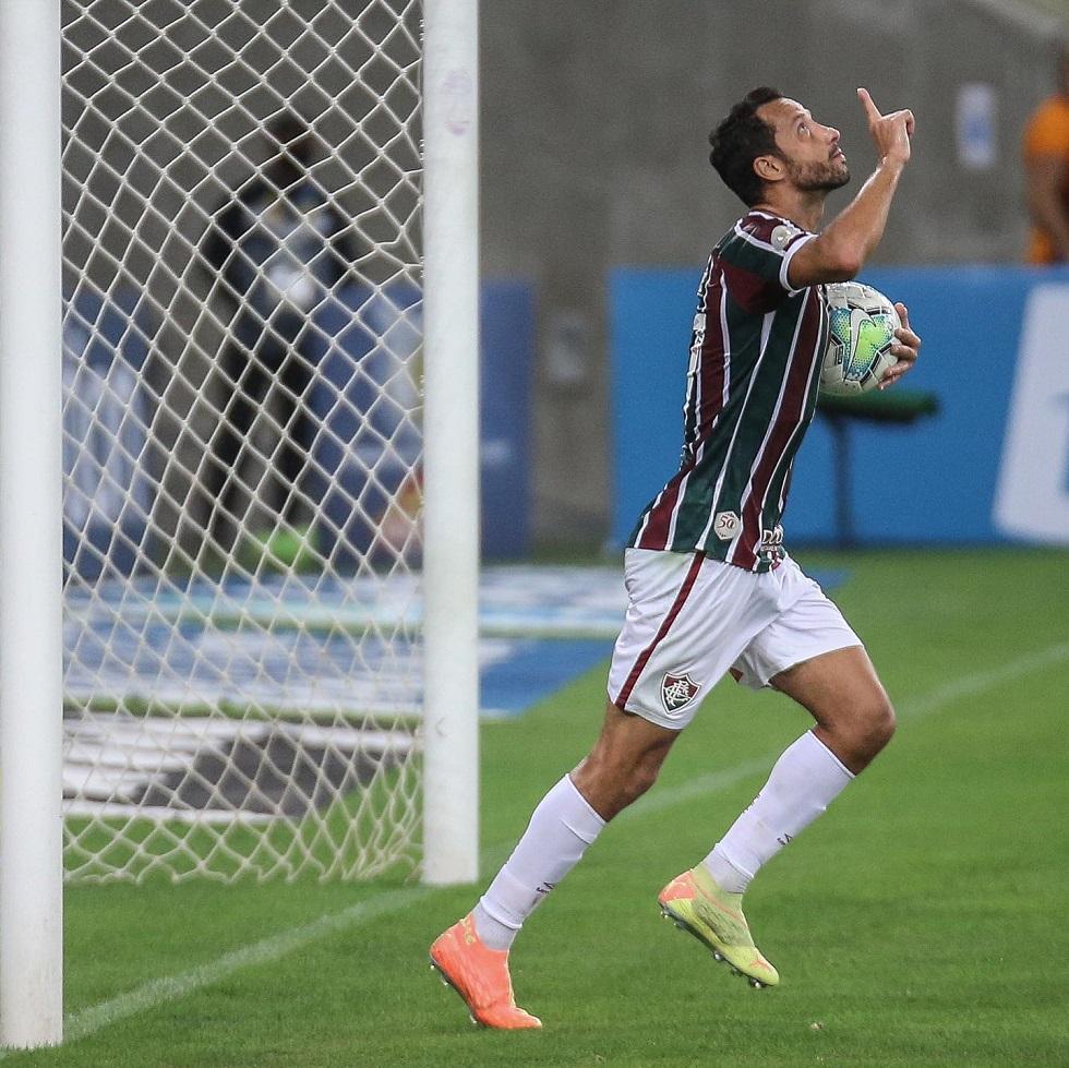 Fluminense vence primeiro jogo no Brasileirão com virada sobre o Inter