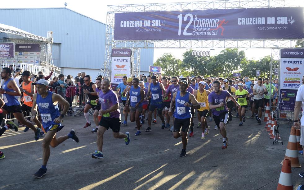 13ª Corrida e Caminhada Cruzeiro do Sul será em junho de 2021