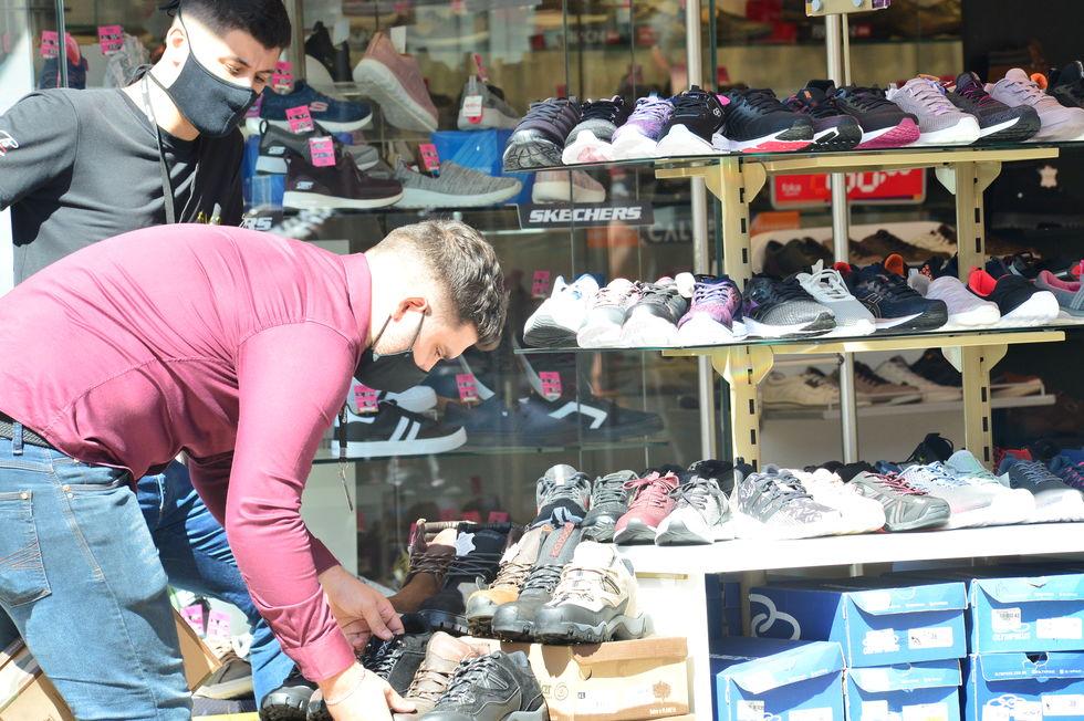 Exportações de calçados caem de 22% em janeiro