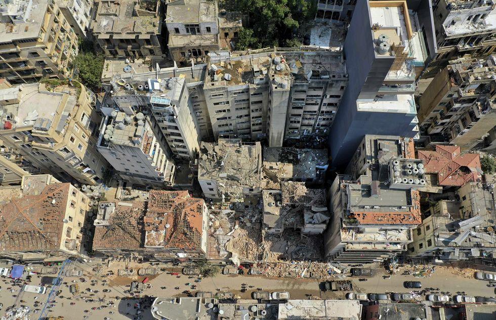 Manifestação ocupa ministério em Beirute