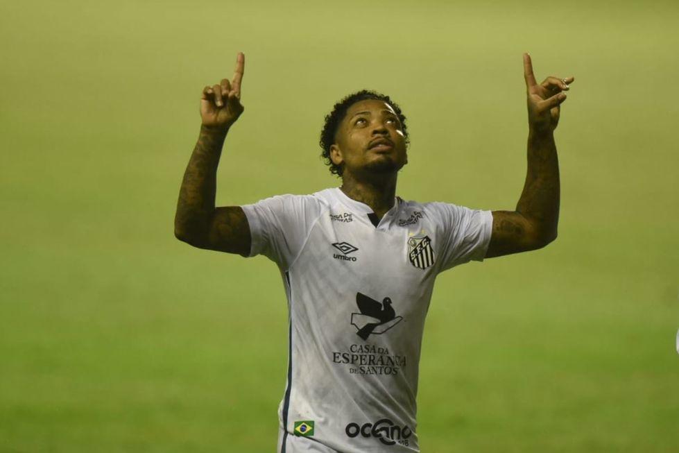 Marinho dá vitória ao Santos sobre o Sport