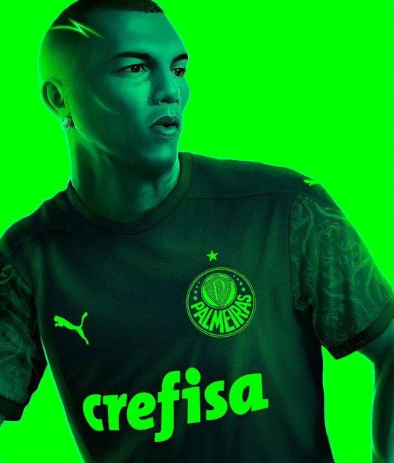 Palmeiras lança terceiro uniforme para a temporada 2020