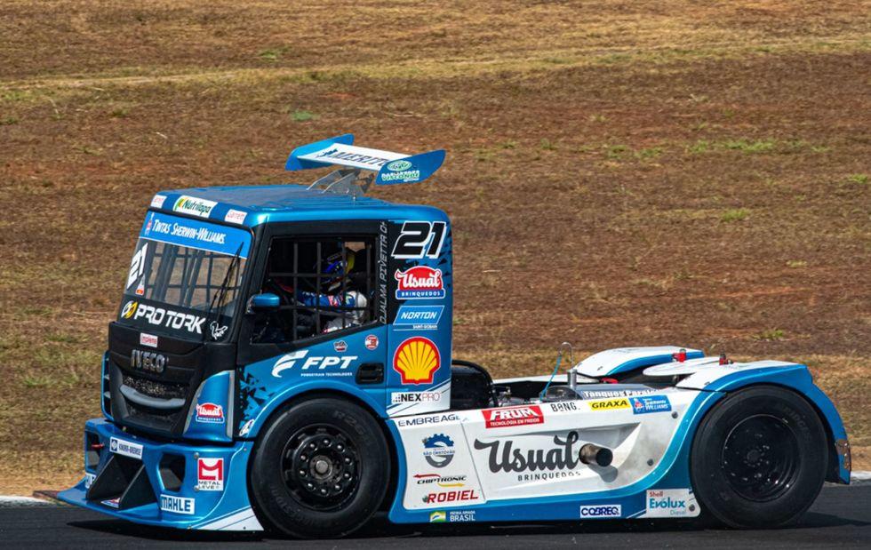 Pivetta é 5º na Copa Truck, em Goiânia
