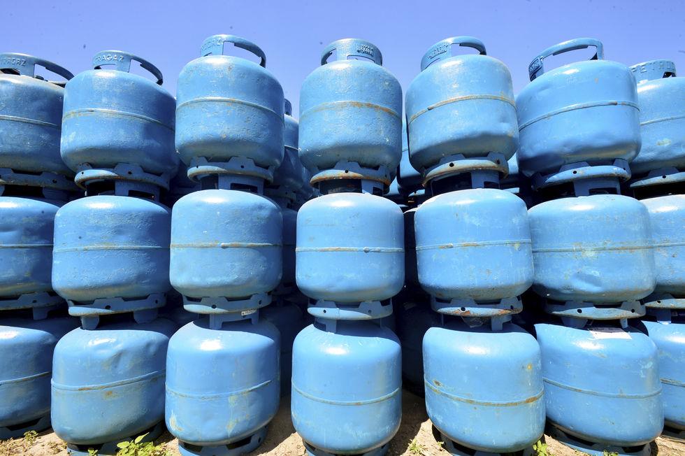 Preço do botijão de gás sobe 5%