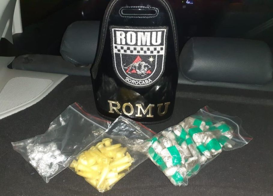 Romu detém homem com drogas no Éden