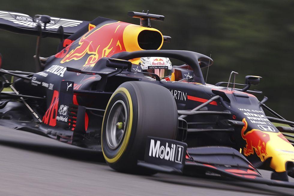 Verstappen lidera 1º dia de treinos