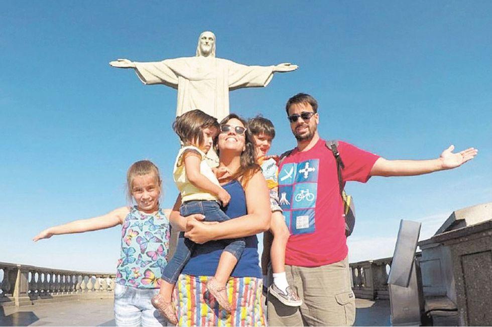Viajar pelo Brasil é uma paixão que passa de pai para os filhos
