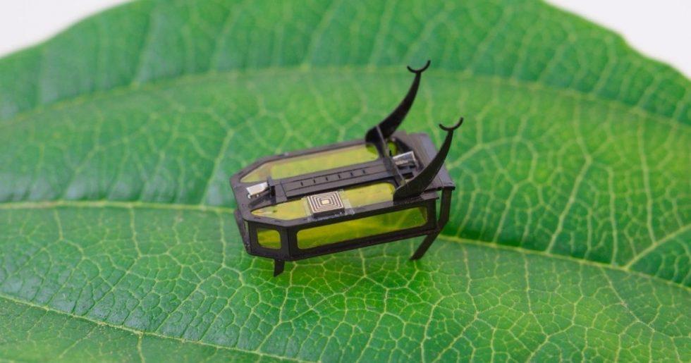 Cientistas criam robô do tamanho de um escaravelho movido a metanol