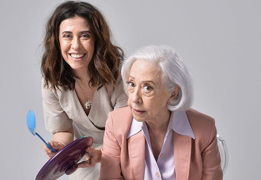 Série une Fernanda Montenegro e filha