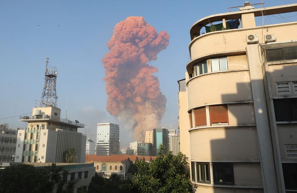 Explosões fazem dezenas de feridos em Beirute