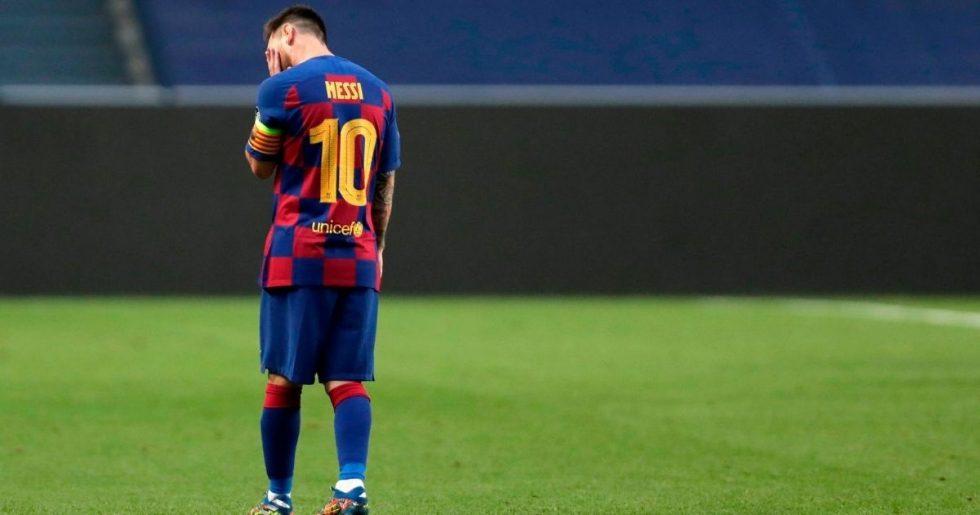 Barcelona admite que recebeu pedido de Lionel Messi para deixar clube