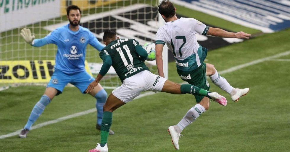 Palmeiras não aproveita os desfalques do Goiás e só empata em casa