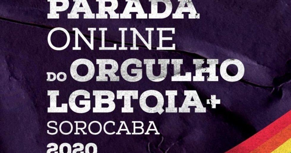 Sorocaba terá a primeira Parada LGBTQIA+ on-line