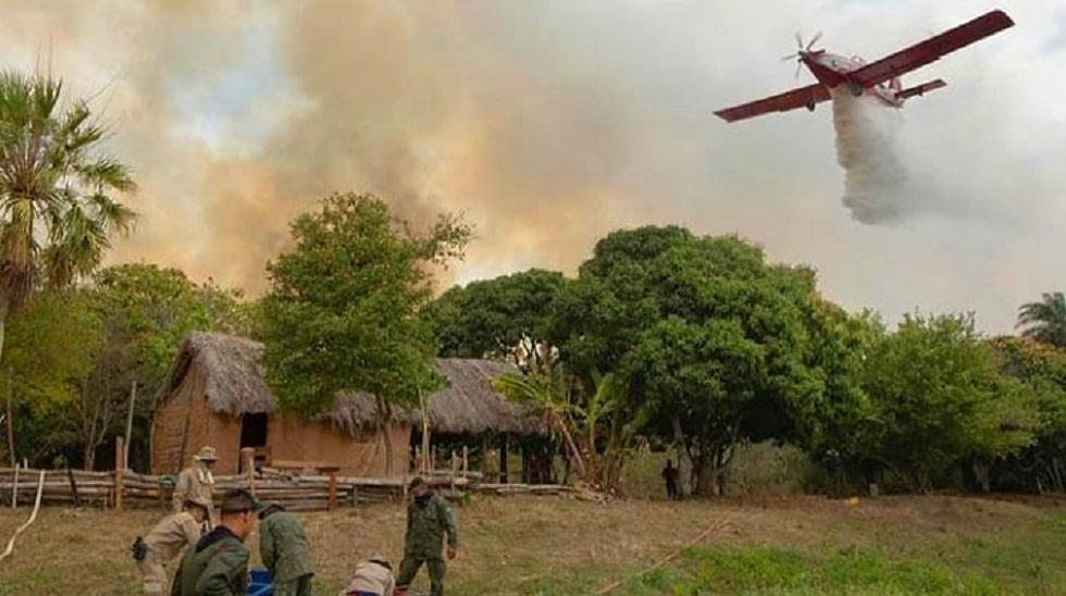 Queimadas no Pantanal quase dobram na comparação com agosto de 2019