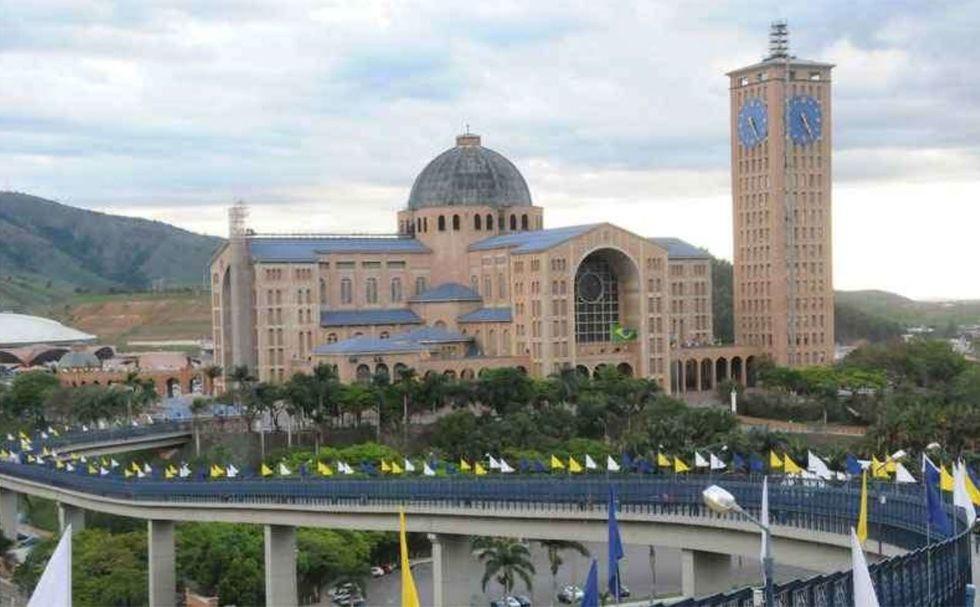 Santuário Nacional e Passarela da Fé são as atrações principais. Crédito da foto: Divulgação