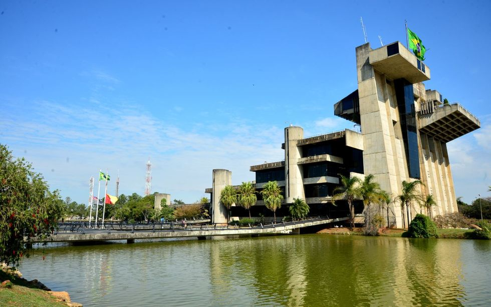 Fachada da Prefeitura de Sorocaba.
