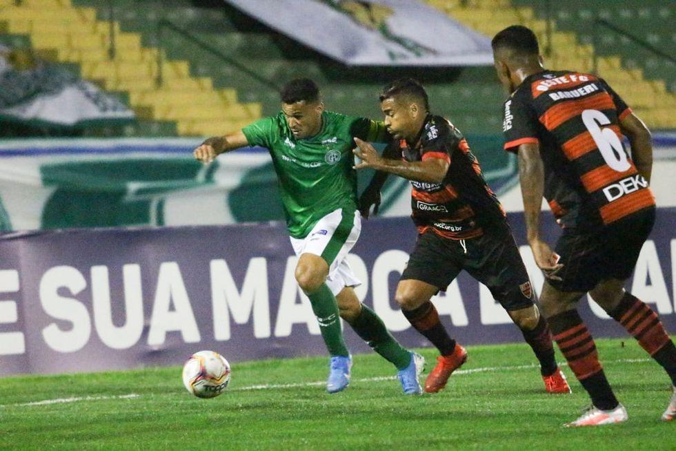 Guarani tenta reagir hoje e Ponte Preta perde pela Série B
