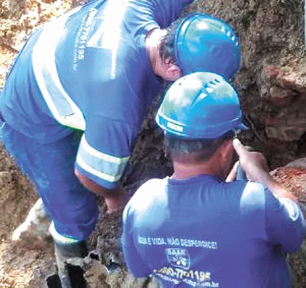 Manutenção emergencial no Cajuru está concluída