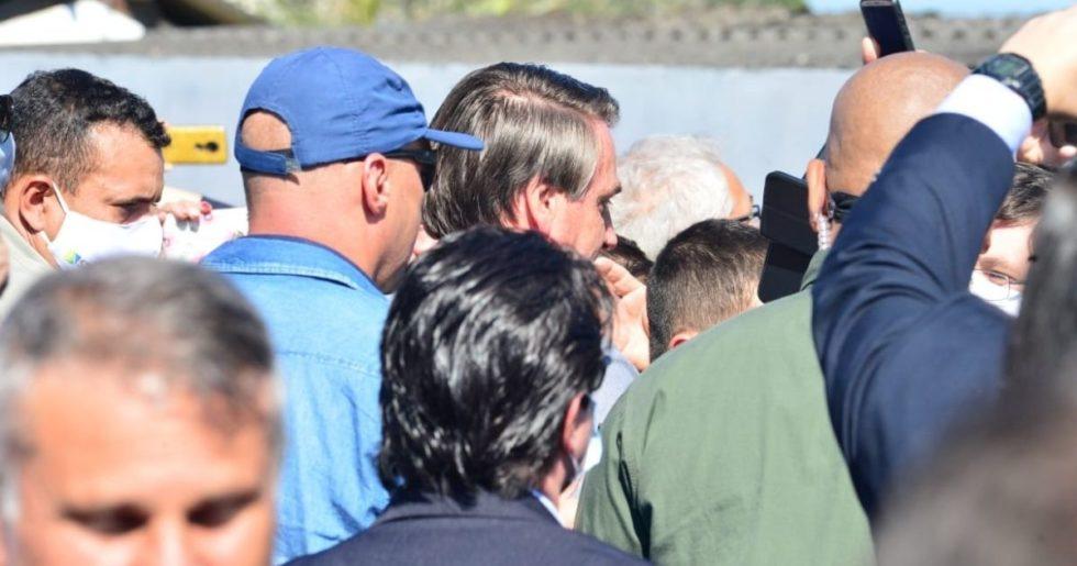 Bolsonaro chega a Tapiraí para visita a apoiadores