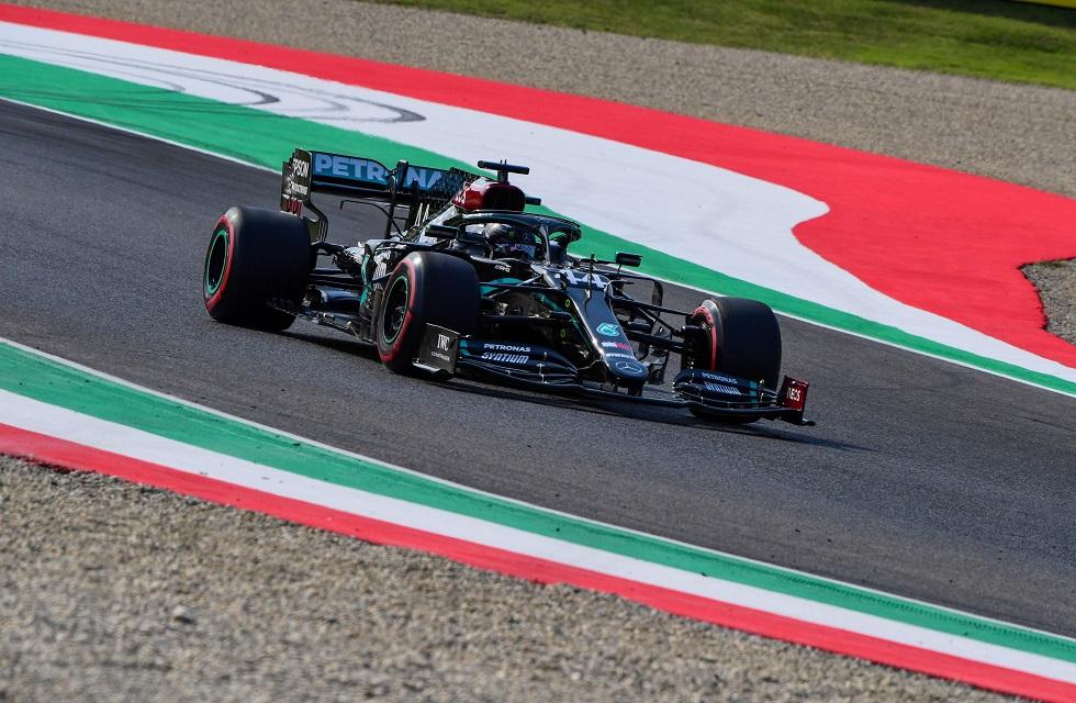 Lewis Hamilton conquistou  a pole para a primeira corrida no circuito de Mugello na história da Fórmula 1.
