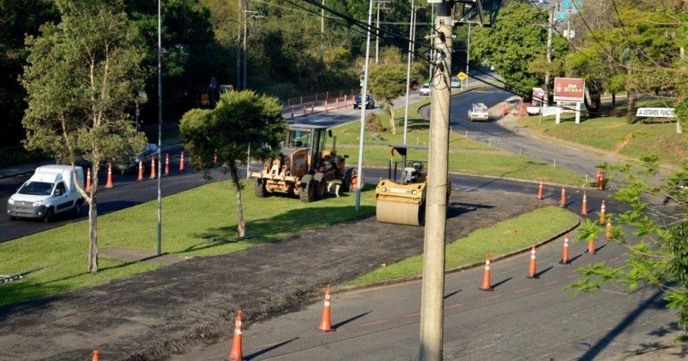 Trecho da avenida São Paulo terá reparo para obra do BRT em Sorocaba