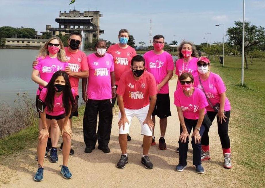 Presença: 6ª edição da corrida Pink do Bem