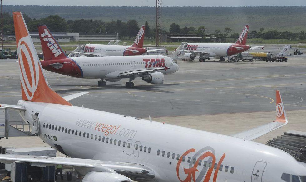 Aeroportos esperam 700 mil pessoas