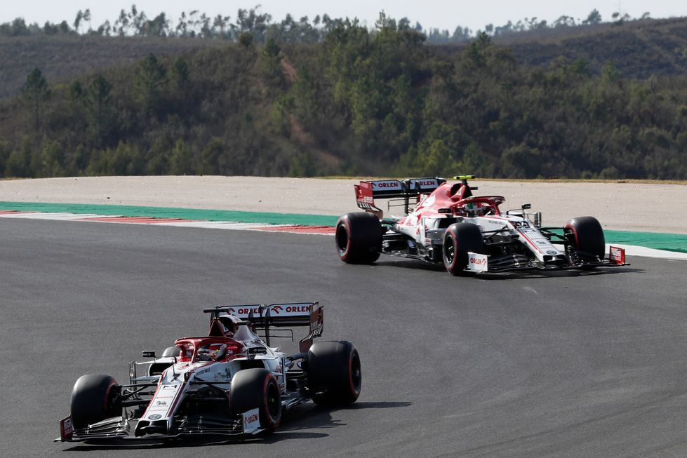 Alfa renova com Kimi e Giovinazzi