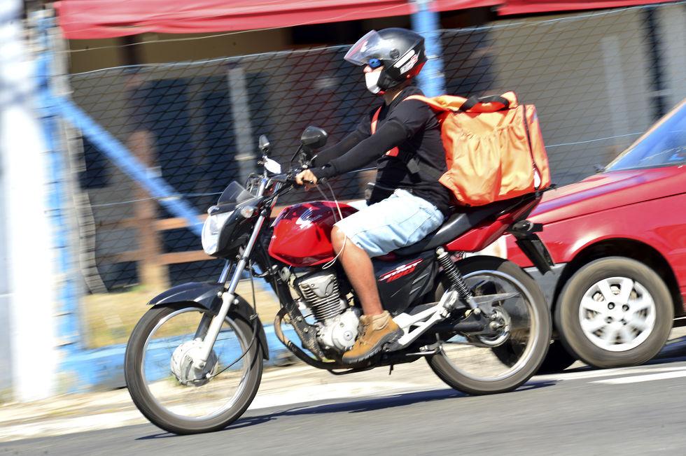 Base de apoio para motoboys
