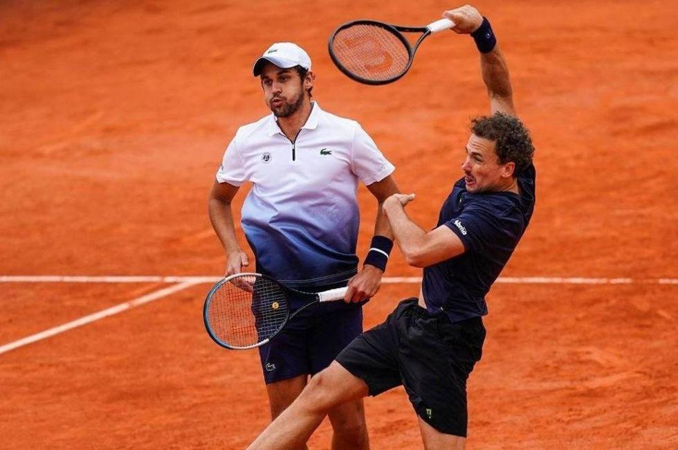 Bruno jogará final de duplas em Roland Garros