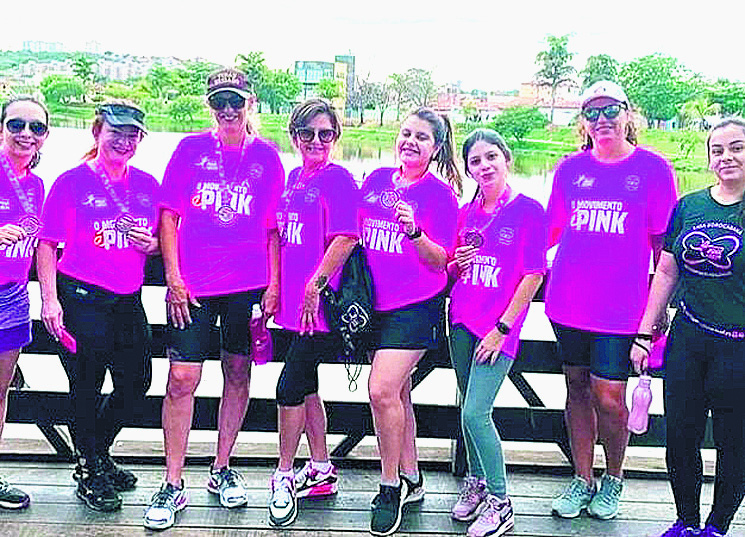Pink do Bem inova e tem 1,2 mil participantes na edição virtual