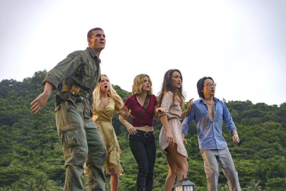 Ilha da fantasia é a primeira estreia nos cinemas