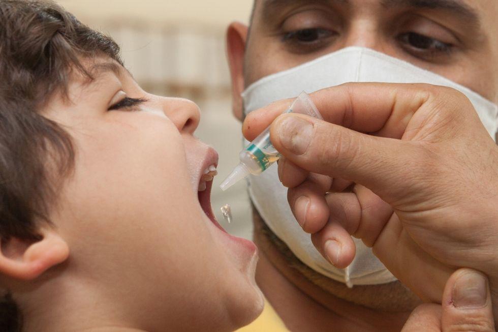 Oito mil doses de vacina