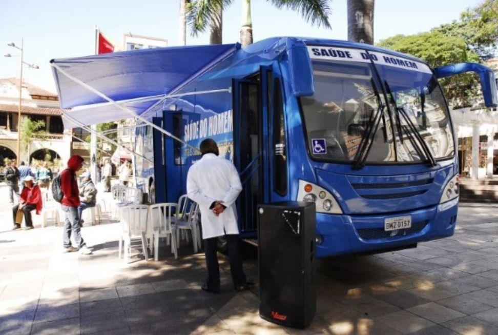Ônibus Azul retoma atendimento segunda