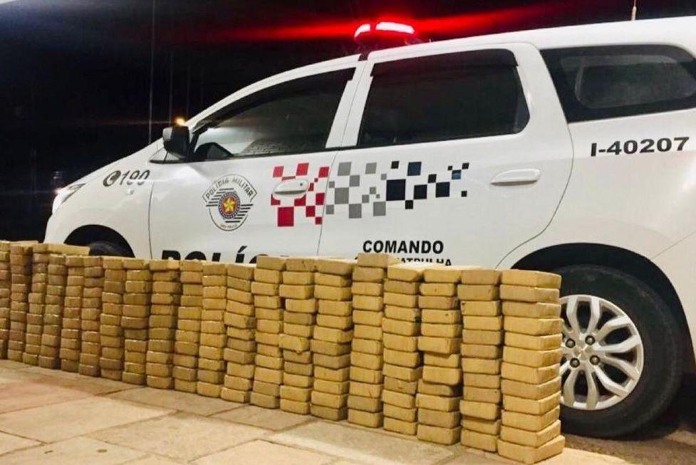 Quantidade de drogas apreendidas na região é recorde de 20 anos