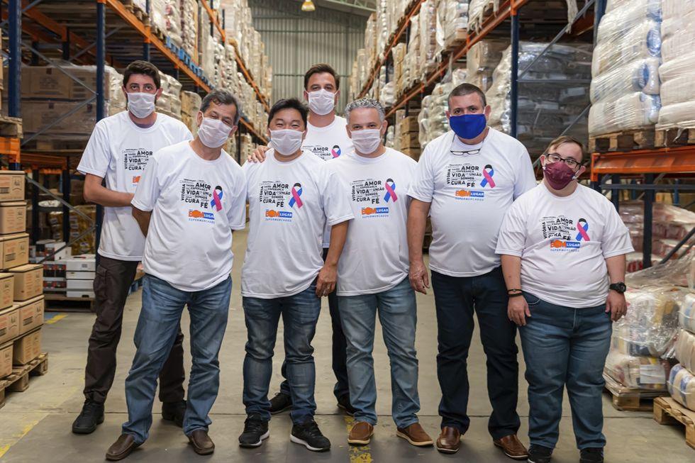 Rede Bom Lugar lança ação solidária 'Unidos Pela Vida'