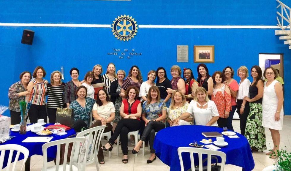 Presença: Rotary Novos Tempos