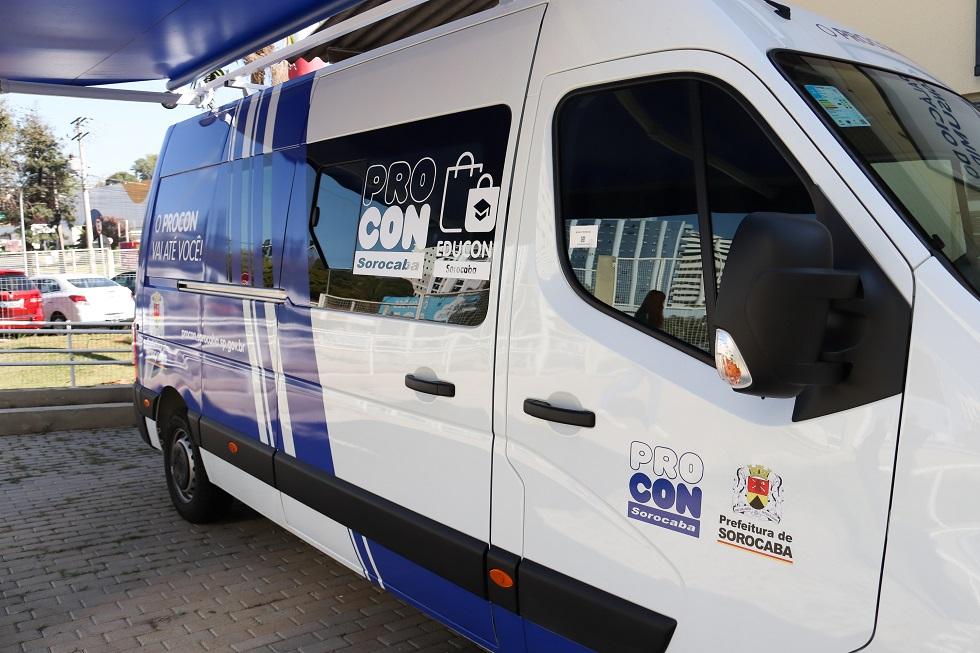 Unidade móvel do Procon atende em três locais nesta semana