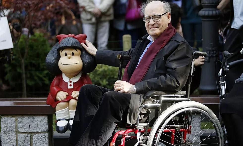 O legado de Quino, 'pai' da Mafalda