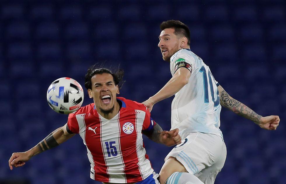 Argentina e Paraguai empatam