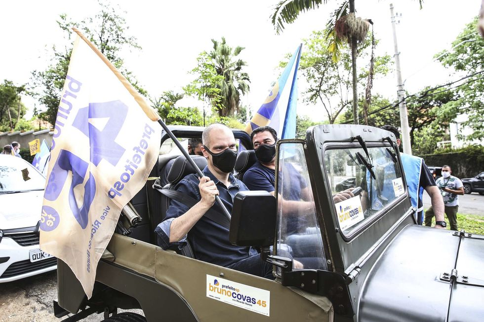 Covas tem 38% dos votos; Boulos, 16%; Russomanno e França, 13%