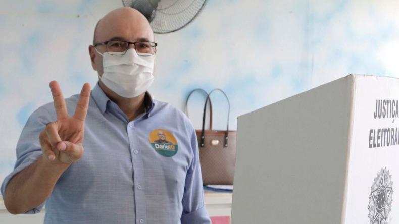 Dario Saadi (Republicanos) foi eleito prefeito de Campinas neste domingo (29)