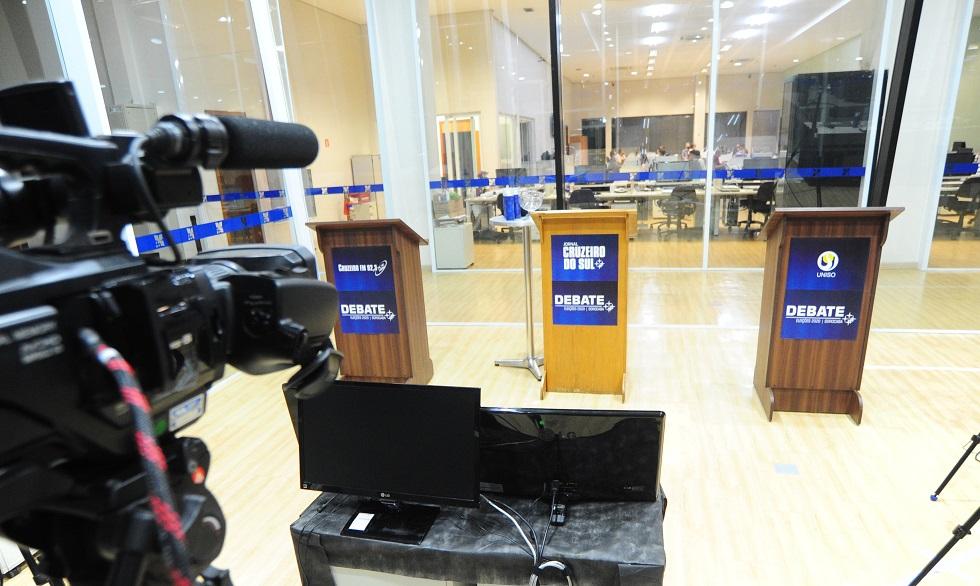 Cruzeiro realiza hoje (12) debate entre candidatos a prefeito de Sorocaba