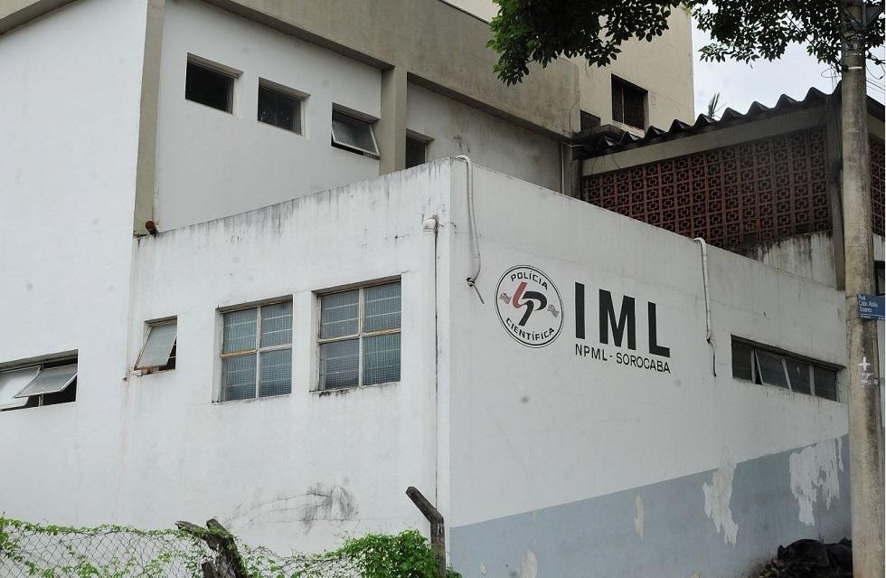 Fachada do Instituto Médico Legal (IML) de Sorocaba.
