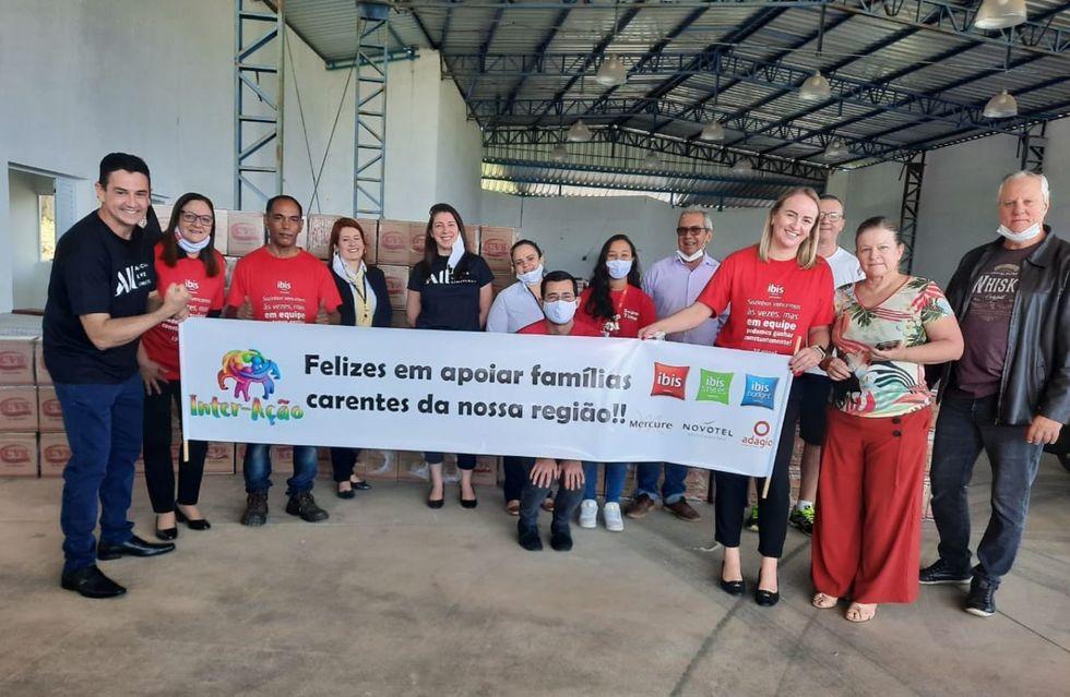 Hotéis da Accor de Sorocaba fazem doações para instituição