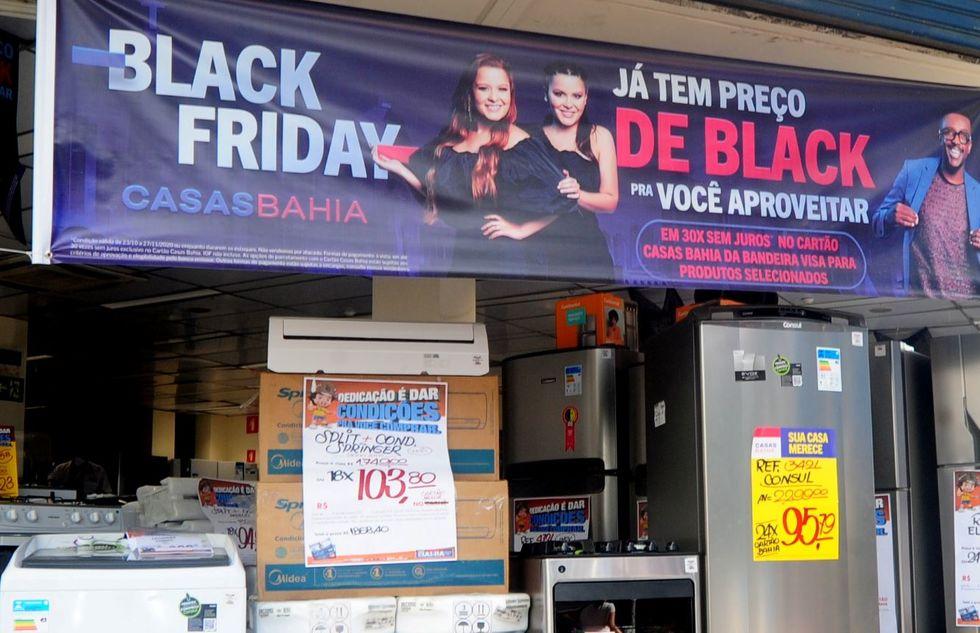 Lojas 'antecipam' descontos da Black Friday