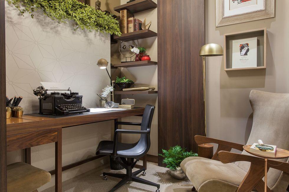 O verde que melhora o home office